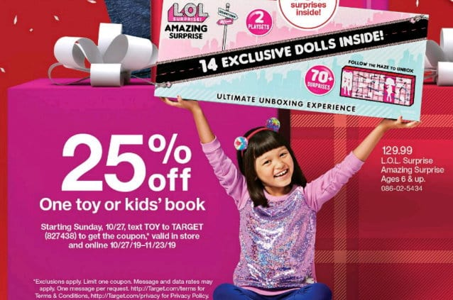 New 25 Off Mobile Target Toy Coupon Now Available More Ways To Save On Toys In Stores Online Totallytarget Com