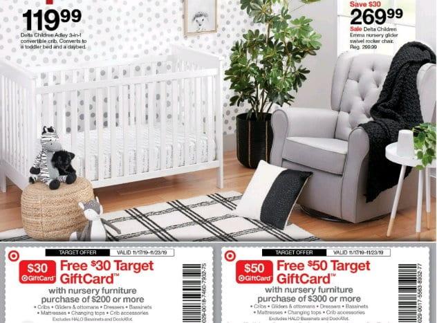 Nice Savings on Nursery Furniture at Target In-Stores & Online