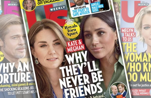 Photo of US Weekly Magazine Covers