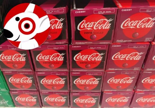 Coke, Pepsi, and Dr Pepper soda sale image