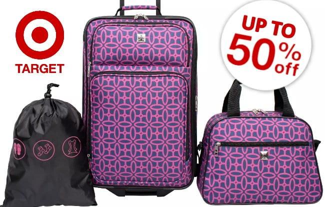 50% off luggage