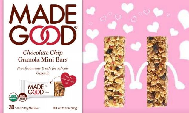 Made Good Mini Bars Valentines