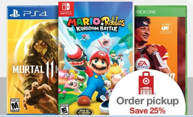 25% off select video games