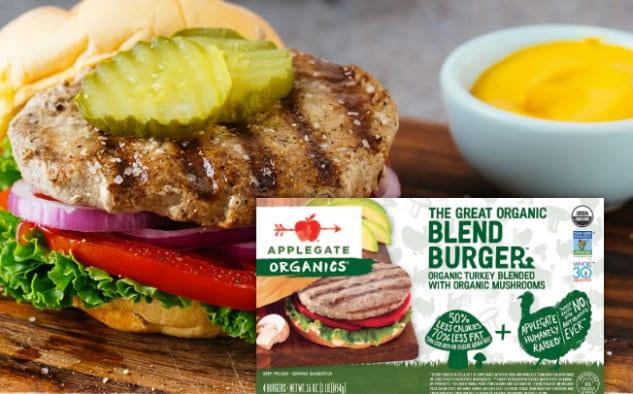 applegate blend burgers
