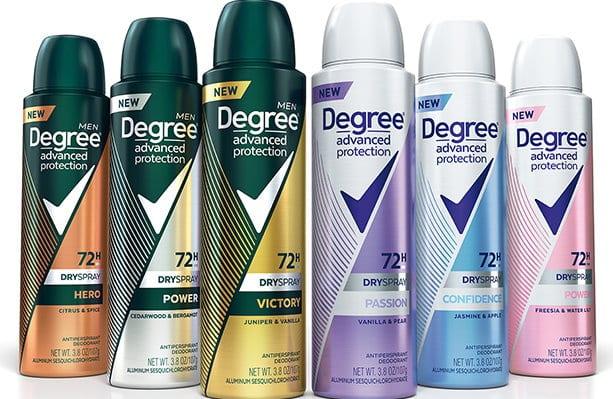 Degree advanced deodorant