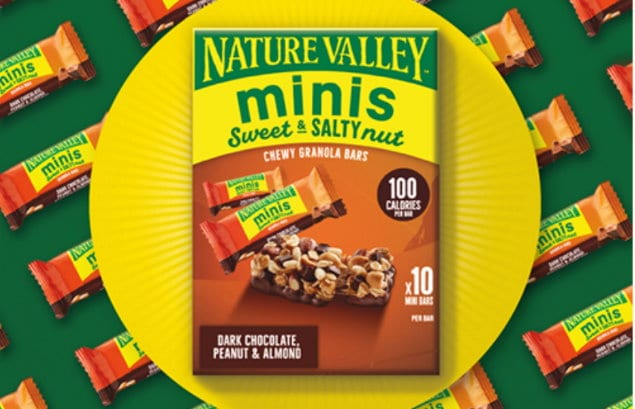 new offer on Nature Valley Minis