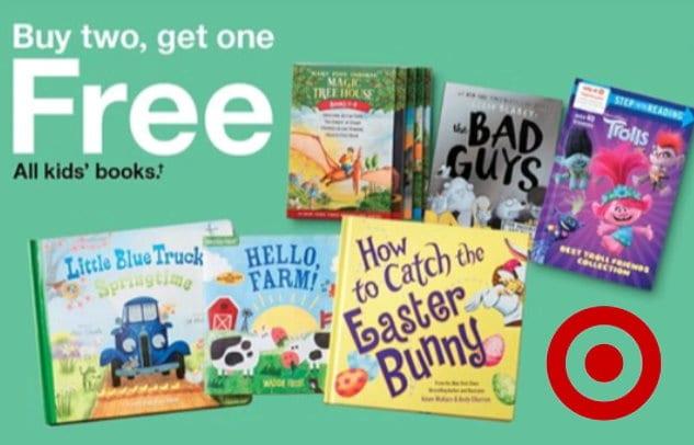 B2G1 FREE kids books