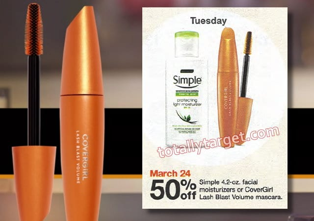 Save On Covergirl Cosmetics Upcoming Deal