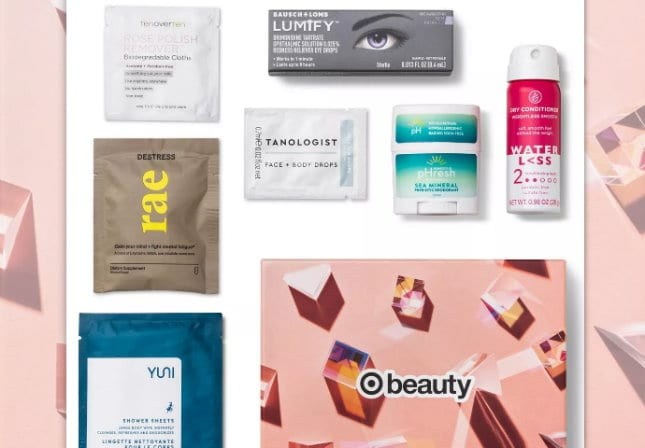 new June Target beauty box