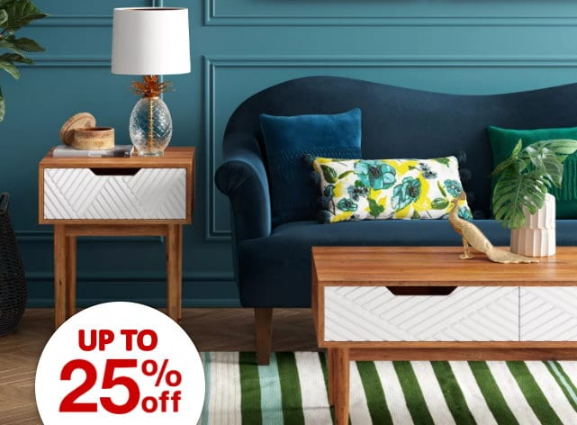 Save Up To 25 On Furniture Decor
