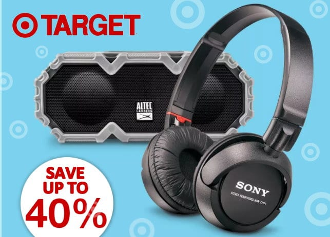 Headphones And Wireless Speakers Up To 40 Off At Target