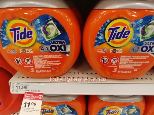 image of Tide laundry detergent at Target