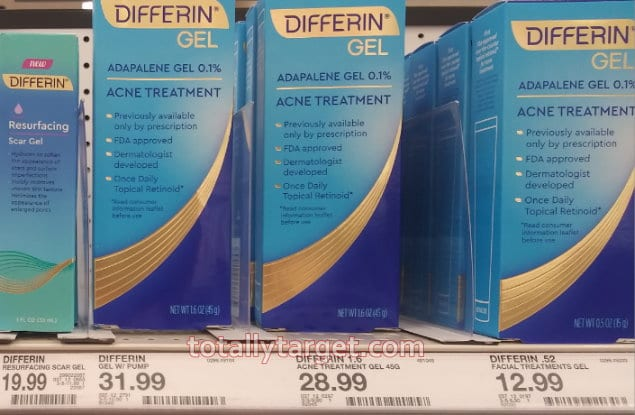 Differin Gel Products Save Up To 60 On Differin Acne Products