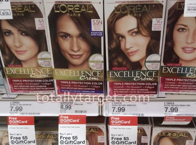Deal On L Oreal Hair Color At Target As Low As 1 15 Each