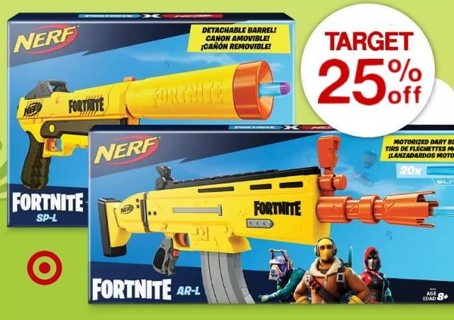 NERF Fortnite Items