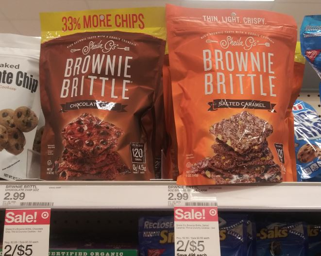 Photo of Brownie Brittle snacks at Target