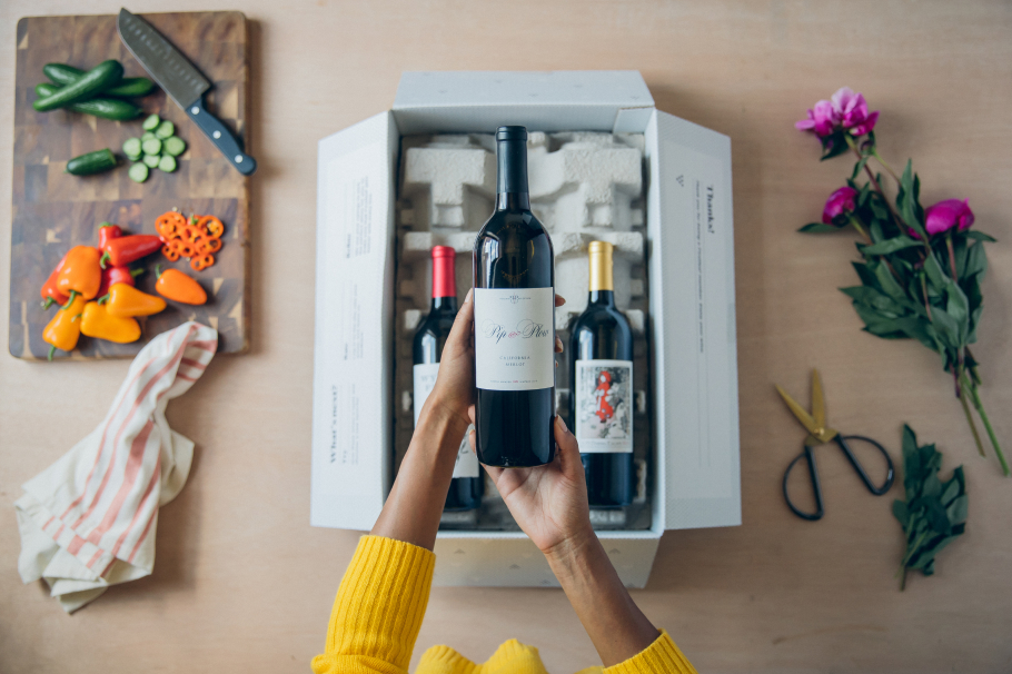 Photo of box of wine from Firstleaf