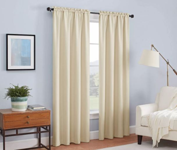 Photo of blackout curtains on sale at Target