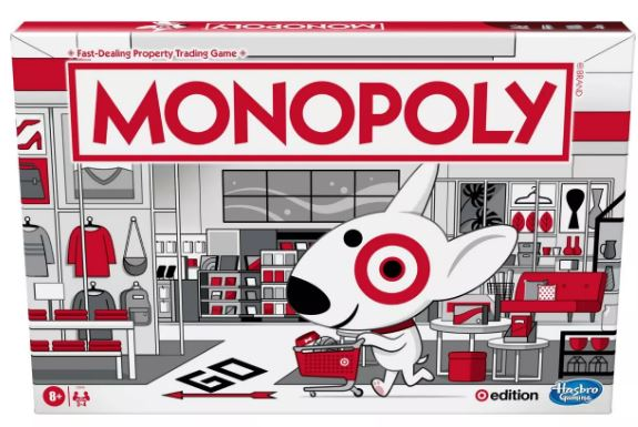 Photo of Target Edition Monopoly Game