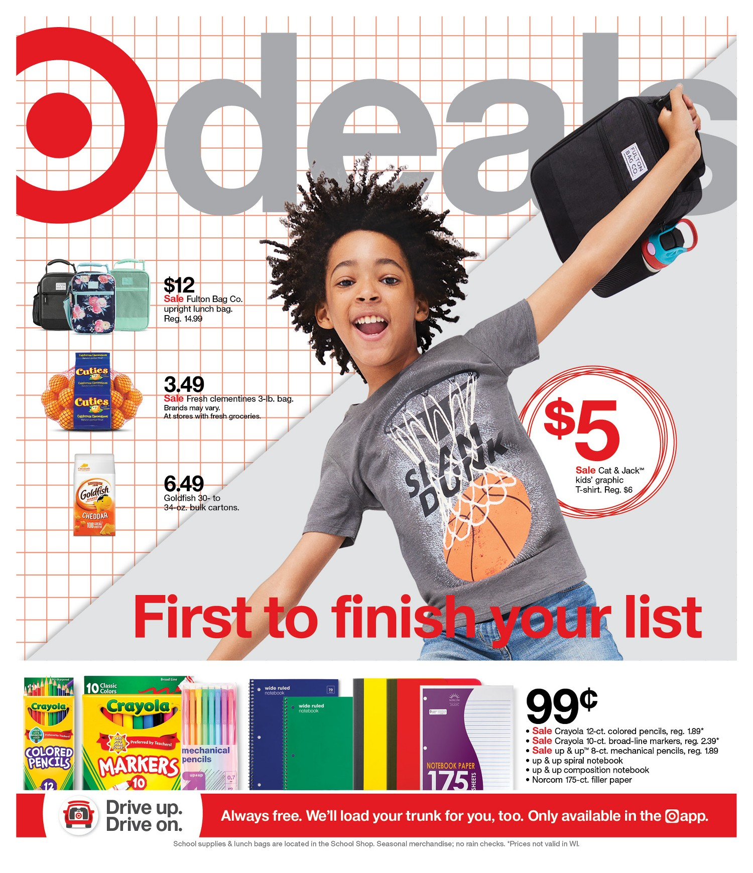 Target Weekly Ad Page 1
