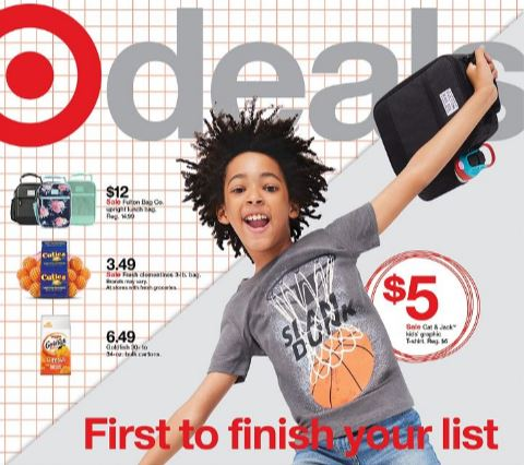 Image of the Target Ad Scan 8-22