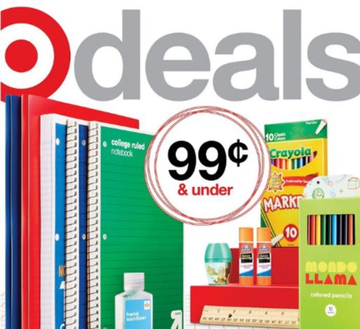 Target Weekly Ad Cover 8/29/21