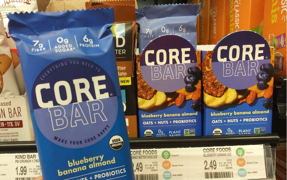 CORE snack bars