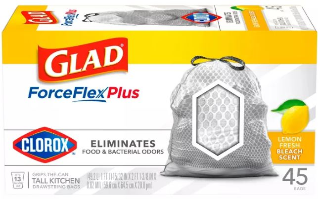 Photo of Glad ForceFlex Trash Bags