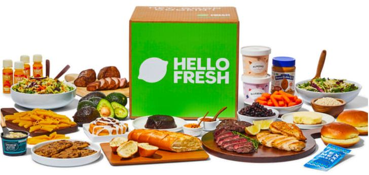 Hello Fresh Meal Delivery Kits add ons