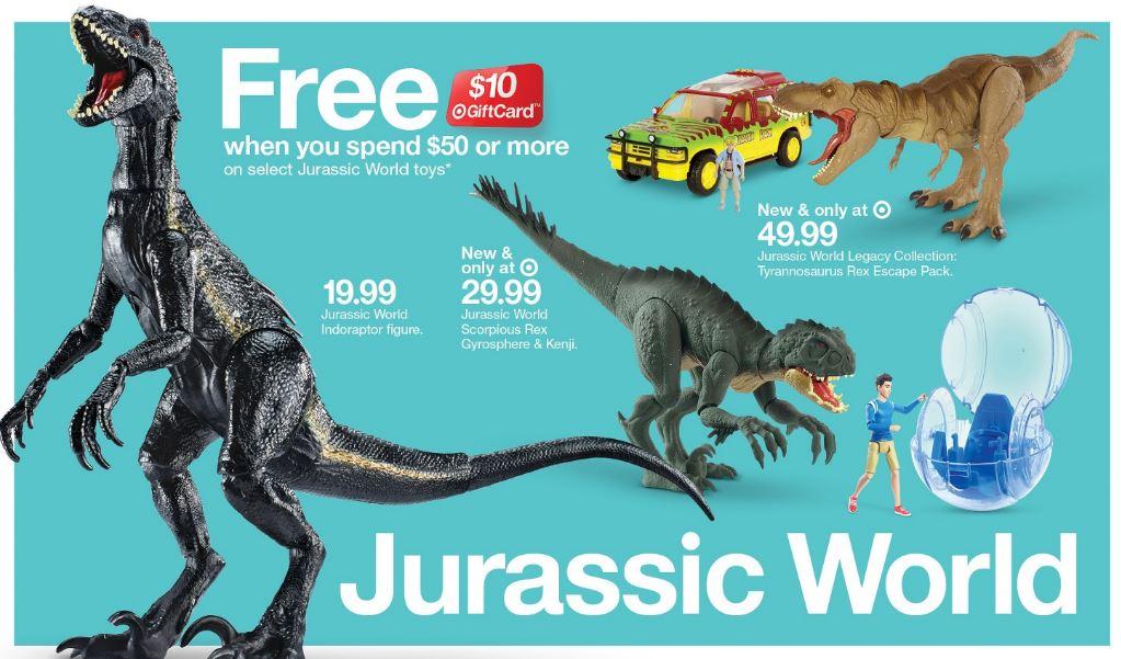 Jurassic World toys image