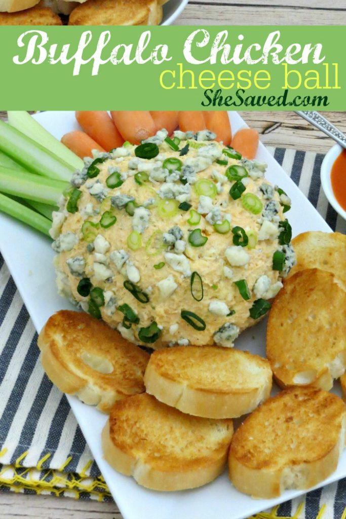 Photo of Buffalo Chicken Cheese Ball recipe