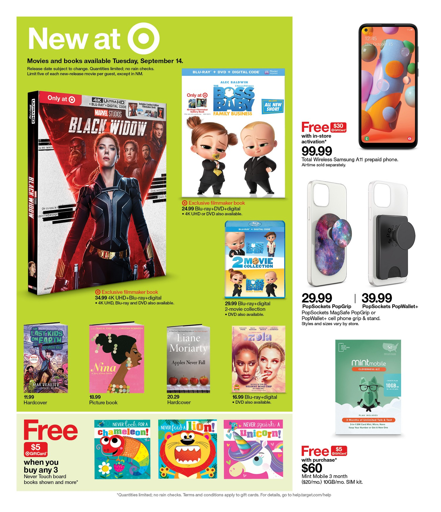 Target Weekly Ad 9-12-21 Page 10