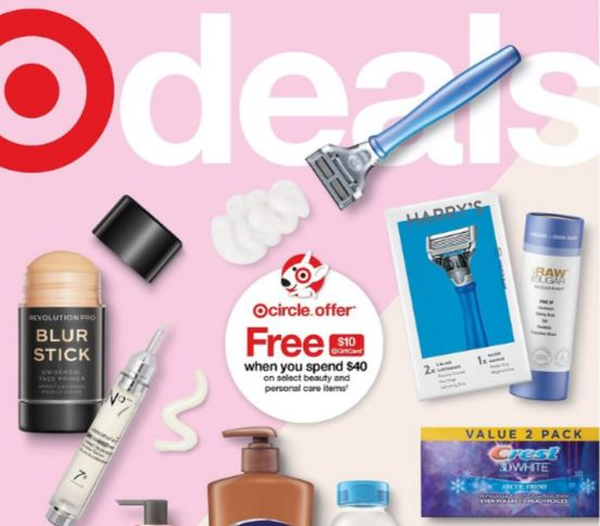 Target Weekly Ad Scan Cover 9/26