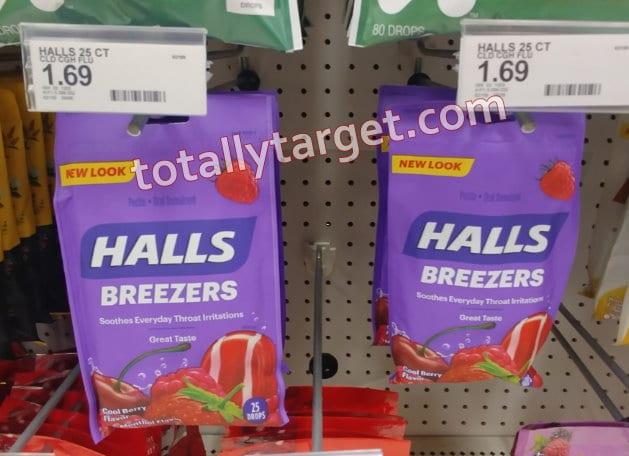 Photo of Halls cough drops