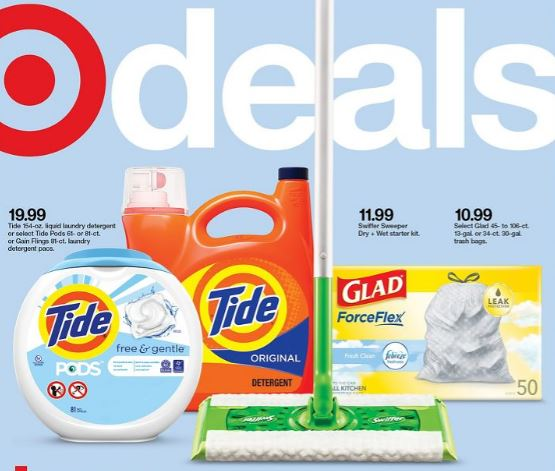 Target Weekly ad 9-5-21 Ad Cover