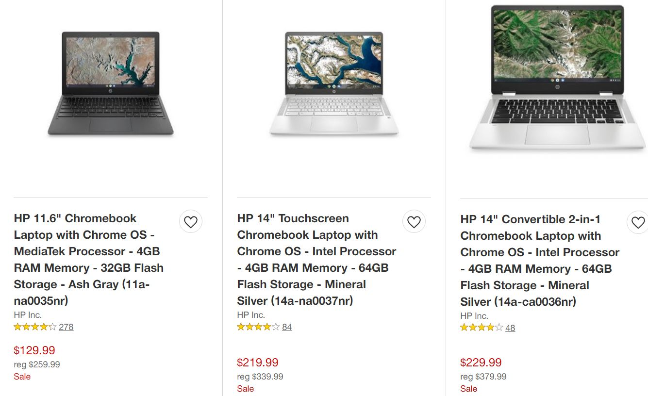 Photo of Chromebook Sale at Target