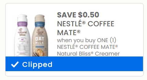 Image of Coffee Mate Creamer coupon