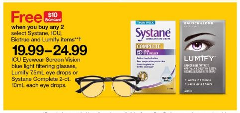 Image of Eye Care Products Gift Card Deal at Target
