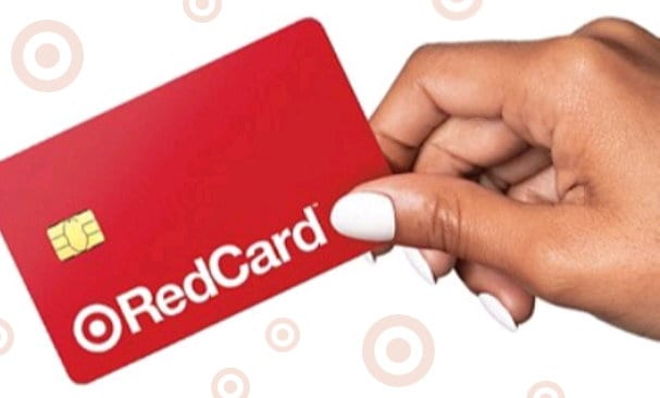 Image of Target Red card when you open a New Target Redcard account