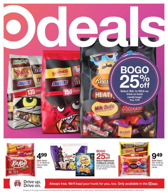Target Weekly Ad 10/17 2021 Page 1
