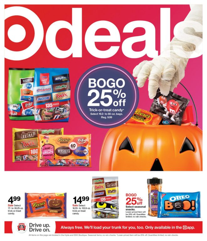 Target Weekly Ad 10/24 2021 Page 1