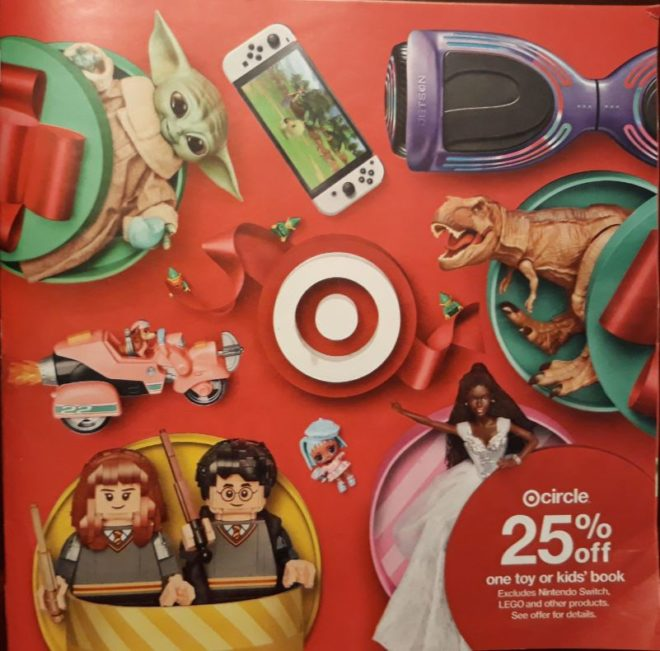 Photo of Target Toy Book 2021