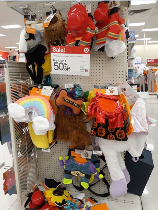 Target Halloween Costumes for Pets