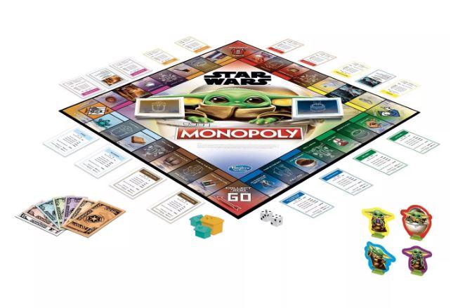 Mandalorian The Child Monopoly Game