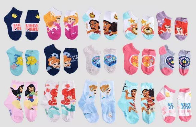 Image of socks in Advent Calendars
